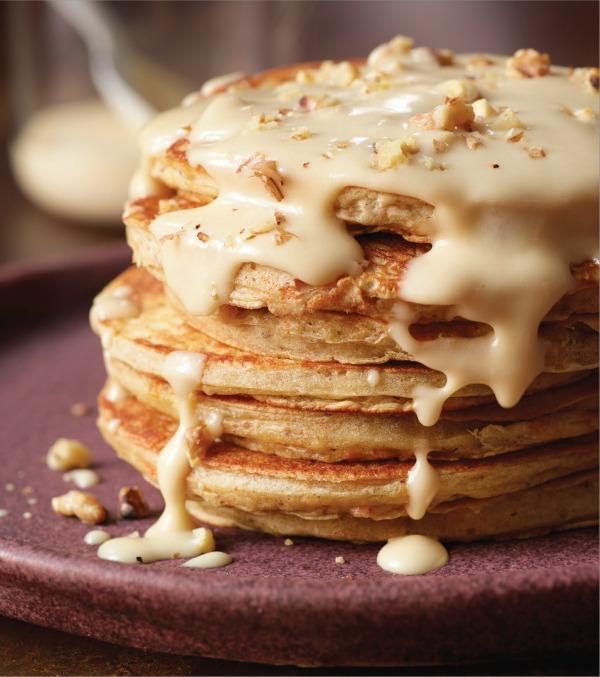 Bobby Flay Carrot Cake Pancakes