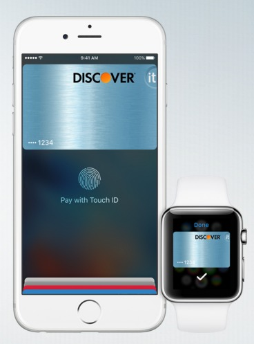 Discover Card Apple Pay