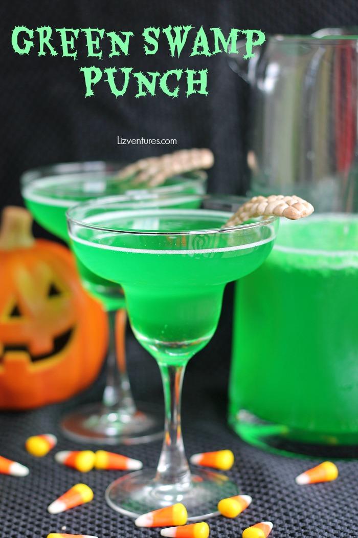 Green Swamp Punch - Halloween recipe