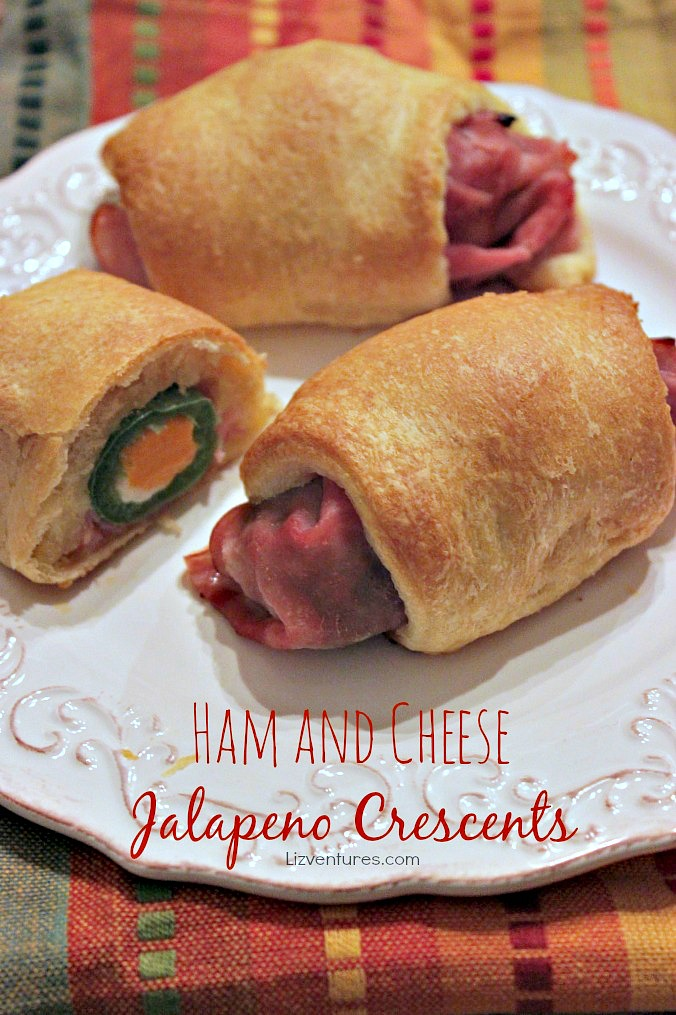 Ham and Cheese Jalapeno Crescents recipe