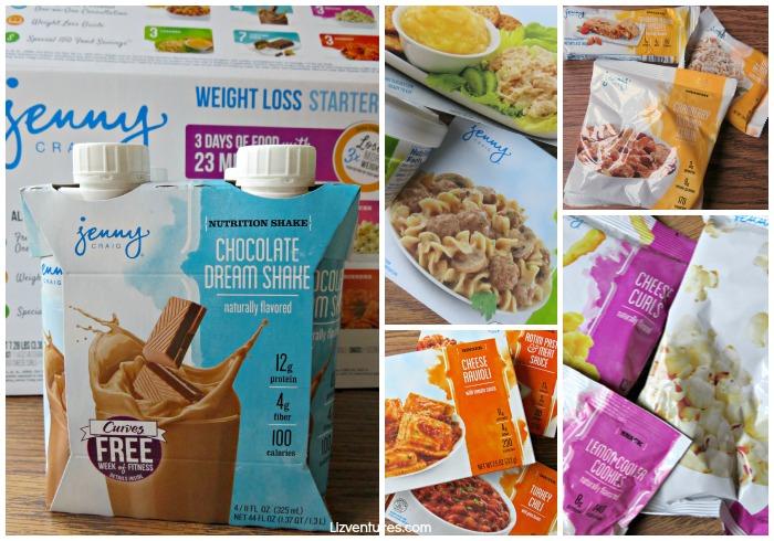 Jenny Craig Weight Loss Starter Kit set