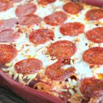 Pepperoni Spasagna (Celebrating the Magic in Mealtime)