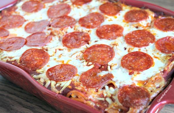 Pepperoni Spasagna