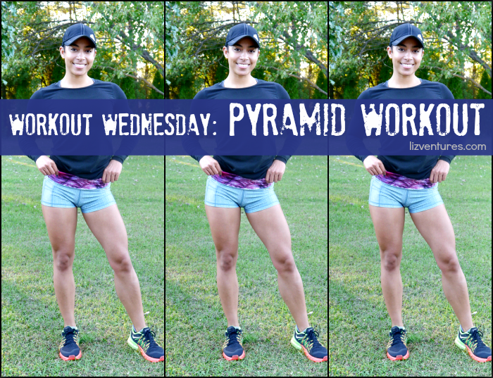 Workout Wednesday Pyramid Workout