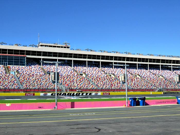 Charlotte Motor Speedway grandstand