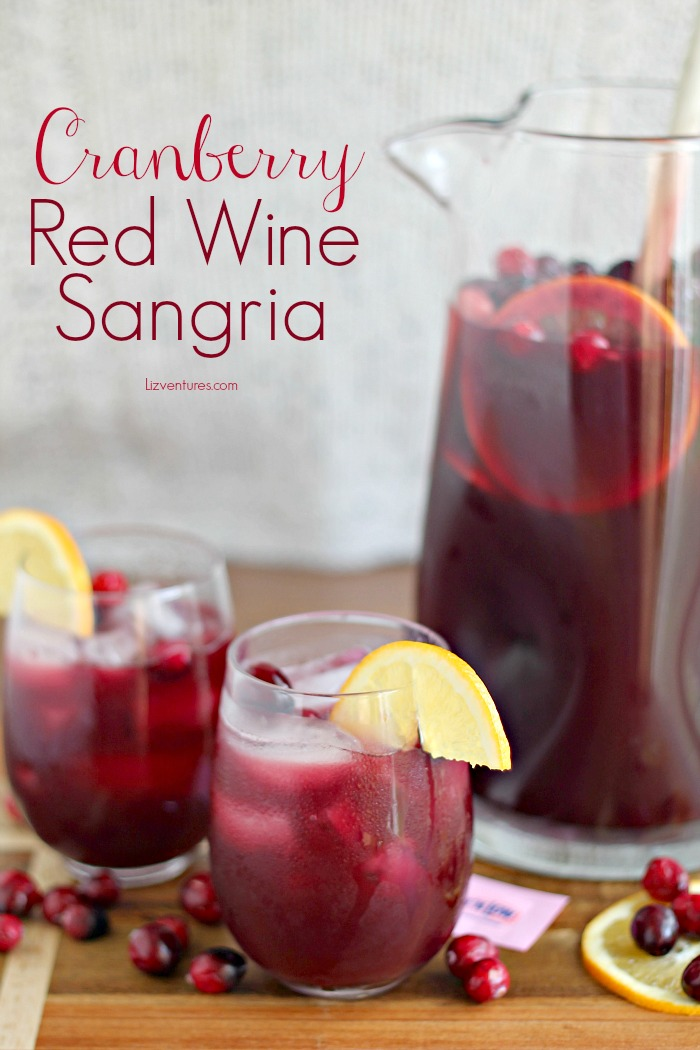 Cranberry Red Wine Sangria recipe