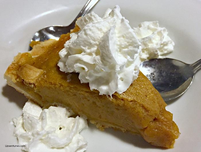 Denny's pumpkin pie