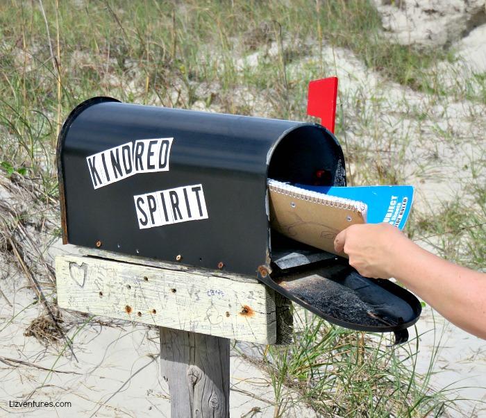 Kindred Spirit Mailbox on Bird Island NC