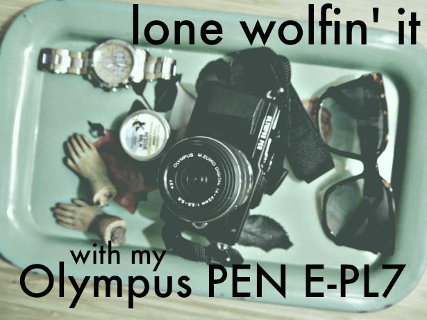 Lone Wolf Olympus PEN E-PL7