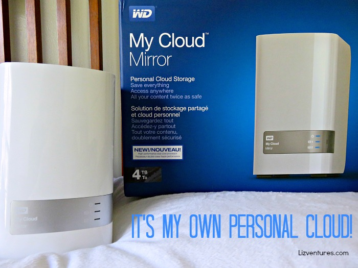 My Cloud Mirror - personal cloud storage