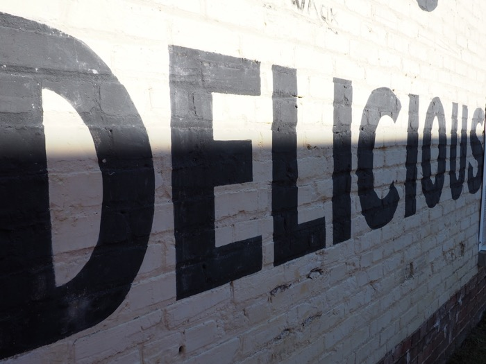 Uptown Greenville Delicious Mural | Olympus PEN E-PL7