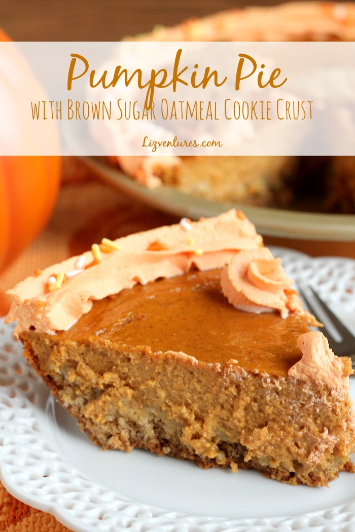 Pumpkin Pie Oatmeal Crust