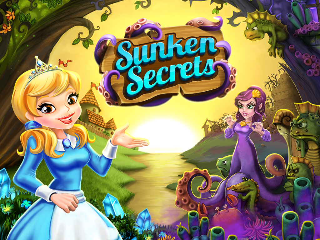 Sunken Secrets, new from Big Fish Games