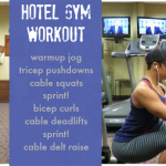 Workout Wednesday: Hotel Gym Full Body Workout