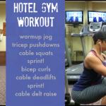 WW Hotel Gym Workout
