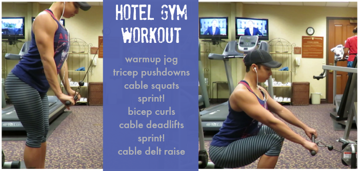WW Hotel Gym Workout