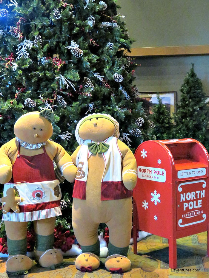 holiday decor - Great Wolf Lodge Concord NC