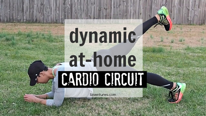 Dynamic At-Home Cardio Circuit