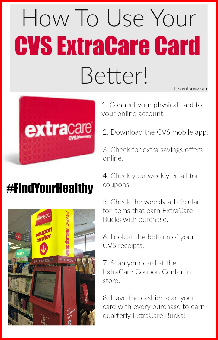 simple saving tricks - how to use your cvs extracare card better