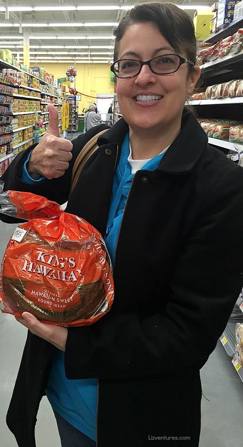 KING'S HAWAIIAN Sweet Round Bread at Walmart
