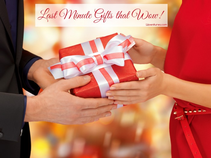 last minute gifts that wow