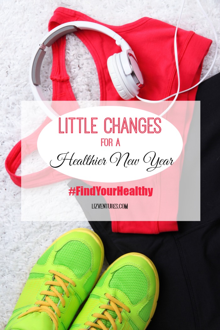 Little changes for a healthier new year #FindYourHealthy