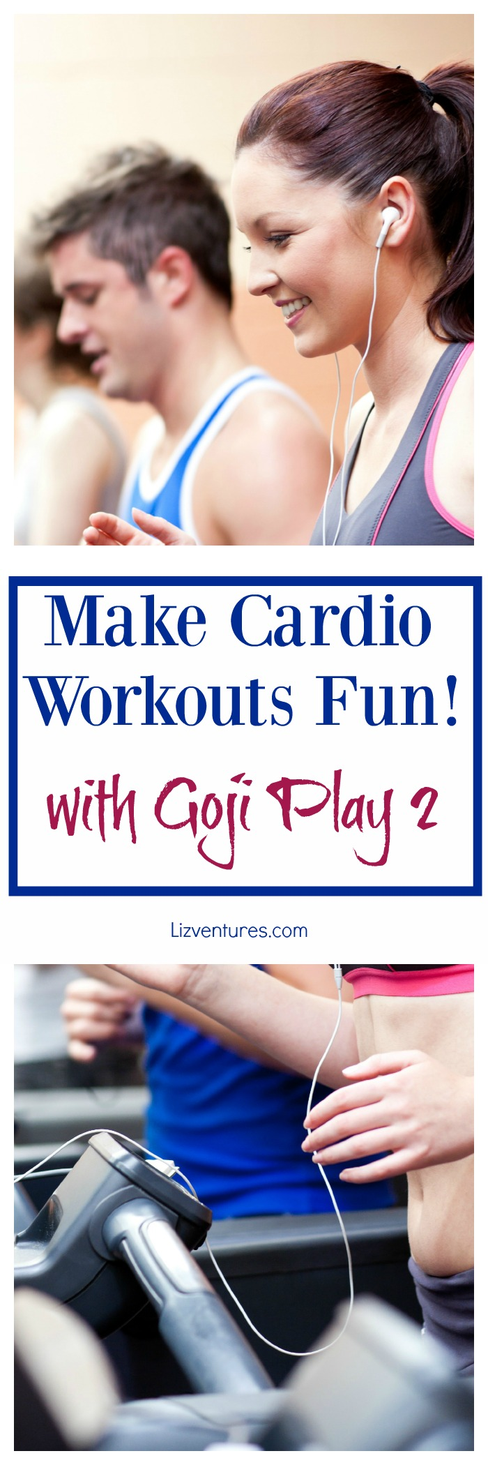 Make Cardio Workouts Fun with Goji Play 2