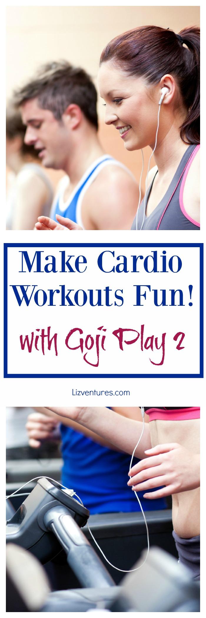 Make Cardio Workouts Fun with Goji Play 2