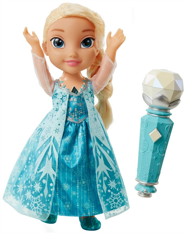 Sing-a-Long Elsa with microphone