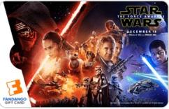 Star Wars Fandango gift card