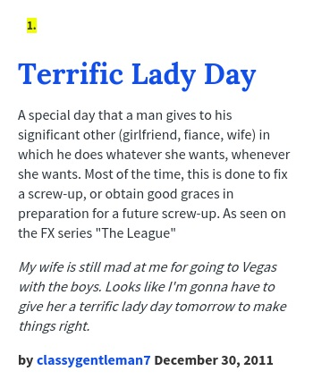 Terrific Lady Day