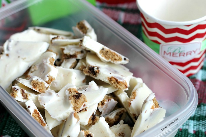 Triple Chocolate Chunk Cookie Bark recipe