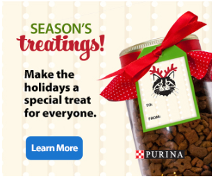 Purina Mason treat jar