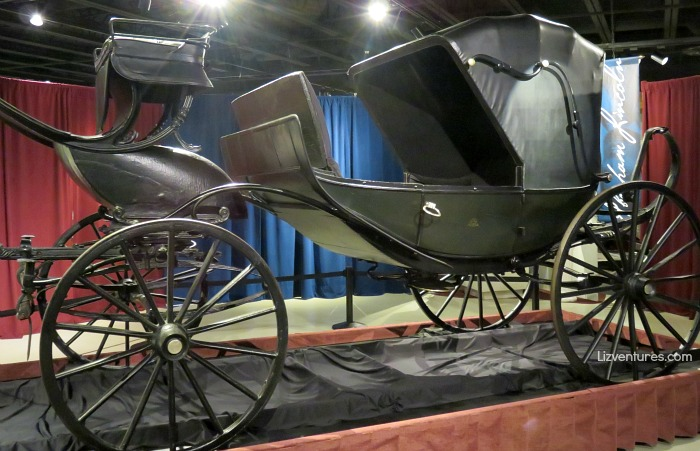 Abraham Lincoln's carriage (barouche) - Studebaker National Museum