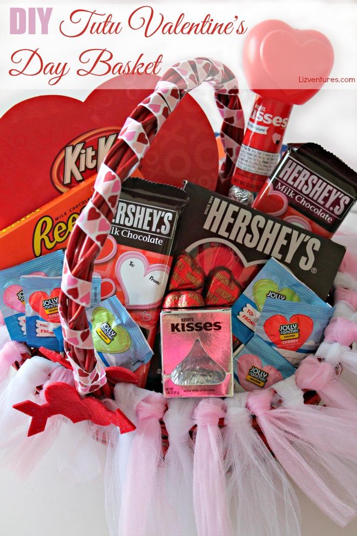 diy tutu valentine's day basket - eat move make, Ideas
