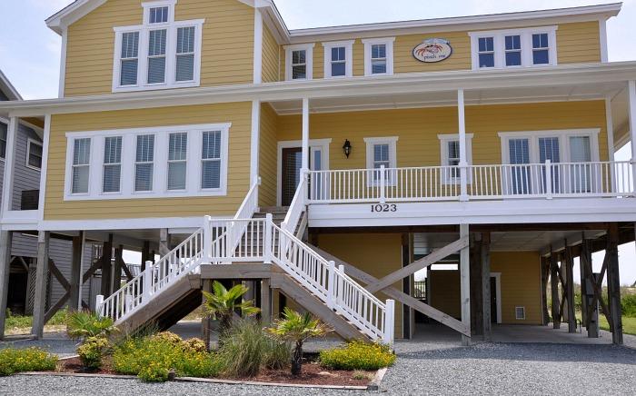 Pinch Me beach house - Holden Beach - photo credit Brunswick Islands