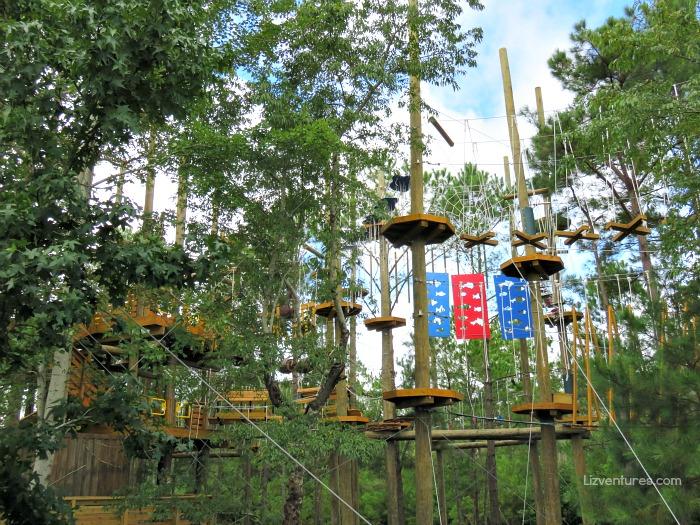 Shallotte River Swamp Park aerial adventure