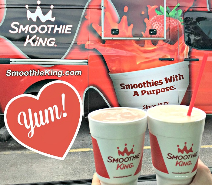 Smoothie King -- meal replacement smoothies