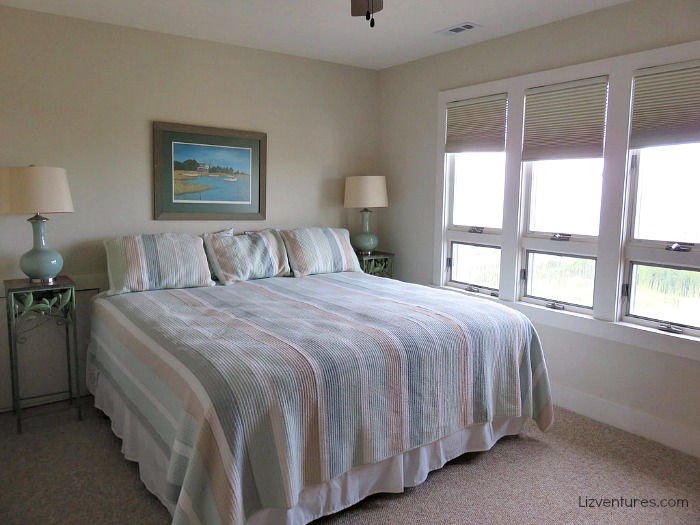 bedroom - Sea Forever beach house - Oak Island