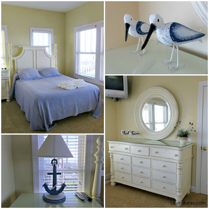 bedroom in Pinch Me beach house - Holden Beach, NC