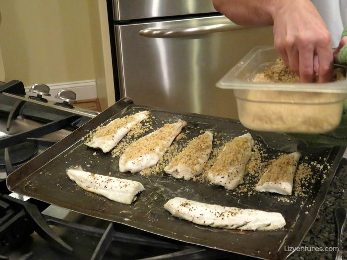 chef prepared local fish