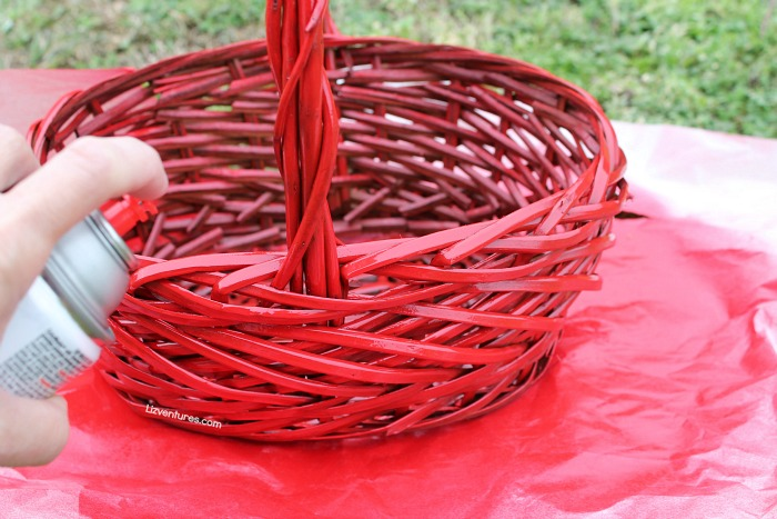 How To Basket Weave Tulle : Diy tutu valentine s day basket eat move make