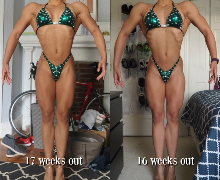 #proprepdiaries 16 wks progress