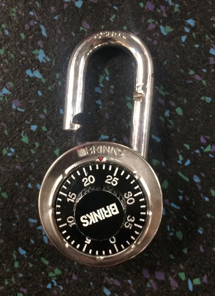 Brinks lock
