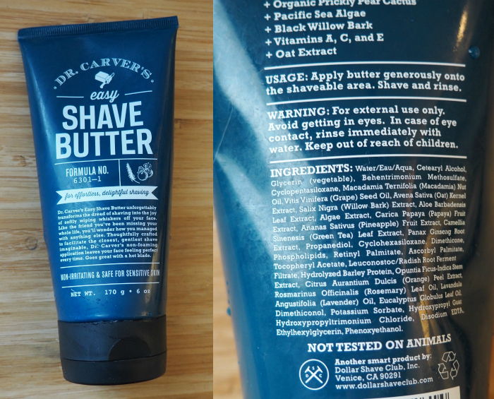 Dollar Shave Club Dr. Carver's Shave Butter
