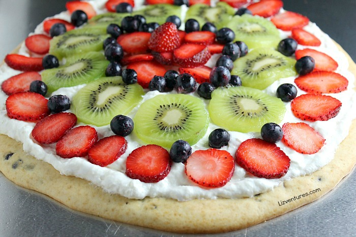 Fruit Pizza Pancake recipe