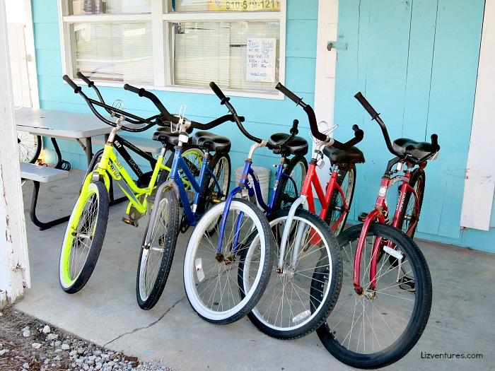 Julies Rentals - bike rentals Sunset Beach