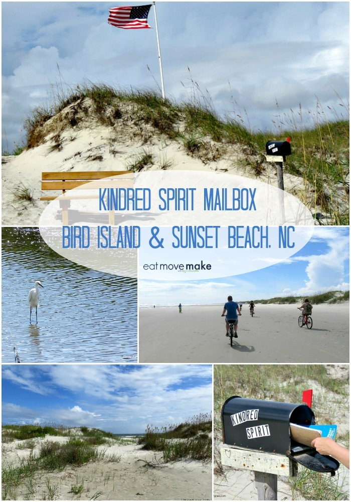 Kindred Spirit Mailbox - Bird Island Sunset Beach NC