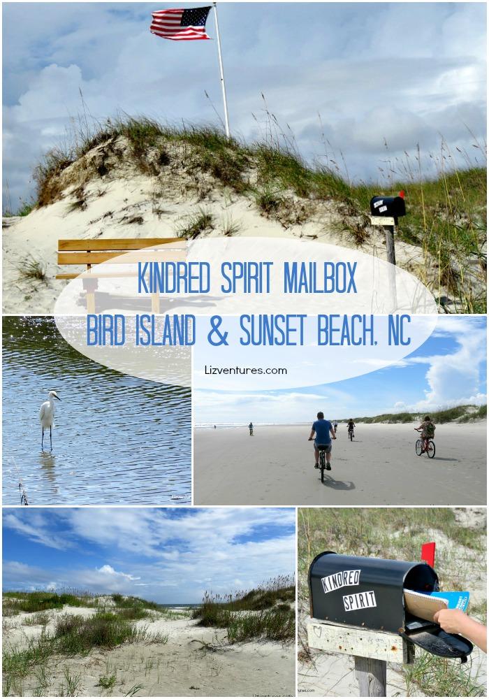Kindred Spirit Mailbox - Bird Island - Sunset Beach NC