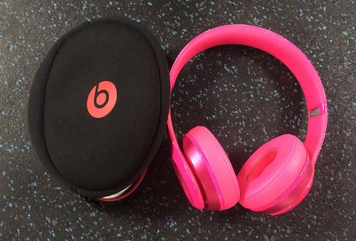 Pink Dr. Dre Beats
